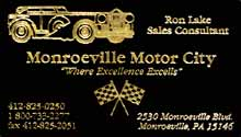 image | business card - Monroeville Motor City